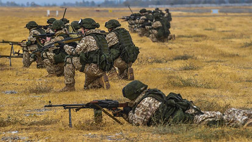 Военнослужащие России и Таджикистана провели учения у афганской границы