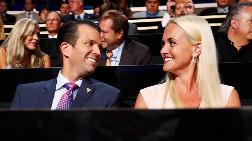Дональд Трамп — младший разводится с женой