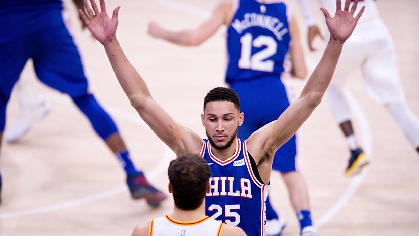 Баскетболист Симмонс третьим в истории НБА набрал 1000 очков, 500 передач и 500 подборов в дебютном сезоне