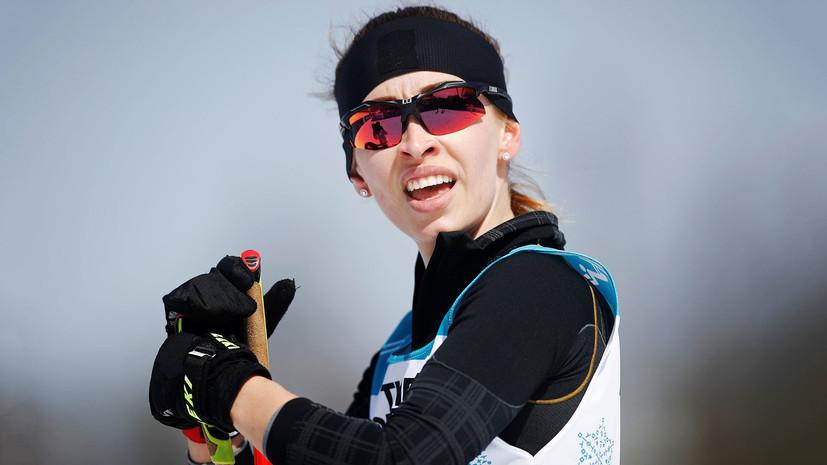 Россиянка Лысова оценила «на пятёрочку» своё выступление в биатлонной гонке на 12,5 км на ПИ-2018