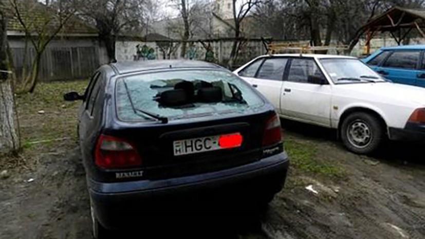 СМИ: В Закарпатье неизвестные повредили девять автомобилей с венгерскими номерами