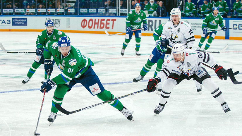 «Трактор» победил «Салавата Юлаева» в первом матче серии плей-офф КХЛ