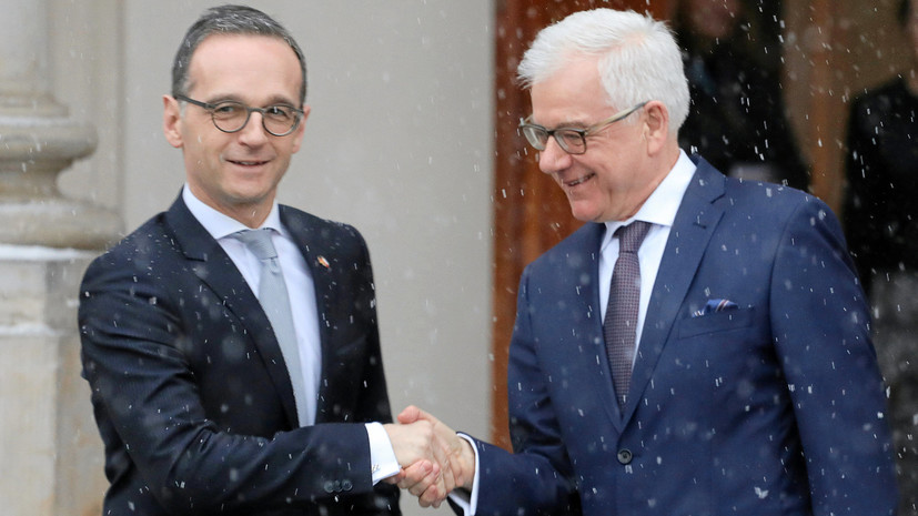 Польша и Германия выступили за оживление «Веймарского треугольника»