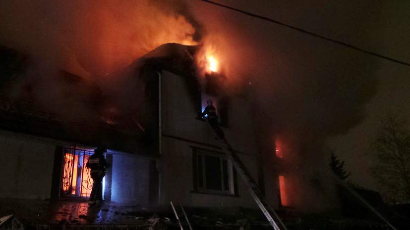 Источник: четыре человека погибли в результате пожара в Самарской области