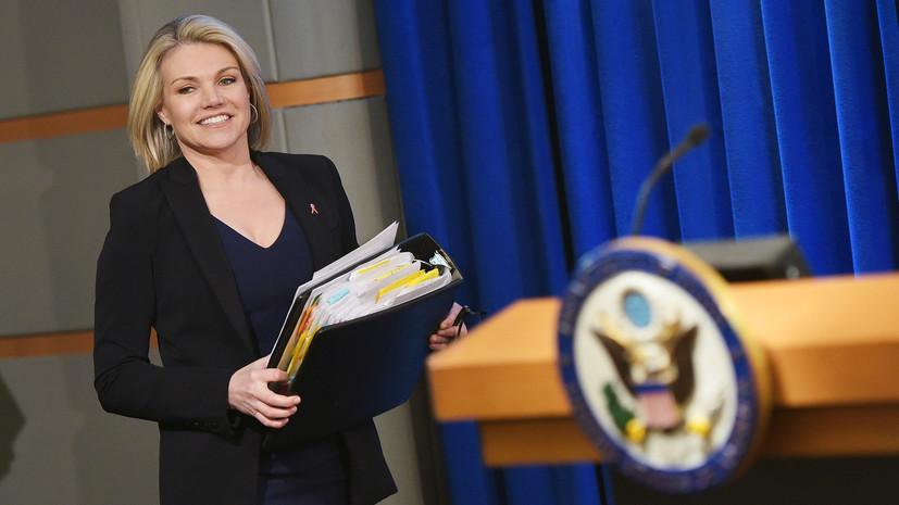 Посольство в США заявило о вмешательстве представителя Госдепа во внутренние дела России