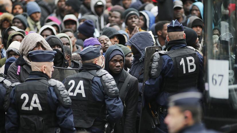Правозащитная организация рассказала о насилии по отношению к беженцам в Париже