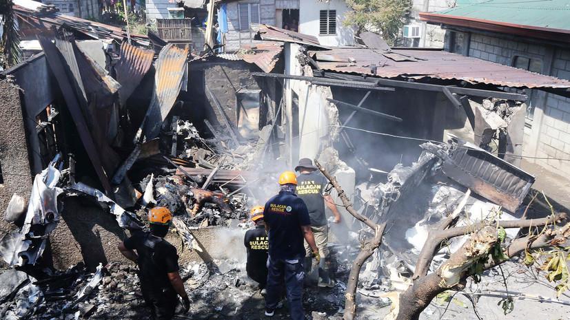 При крушении самолёта на Филиппинах погибли семь человек
