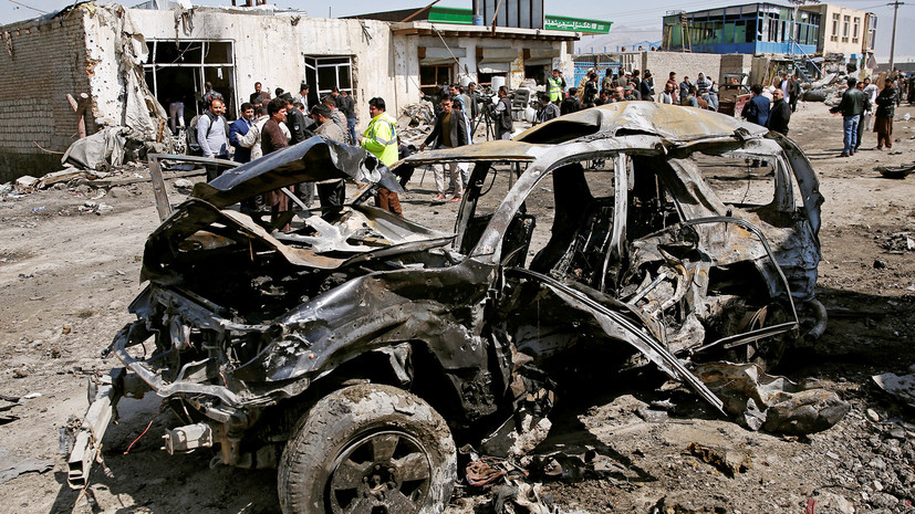 Два человека погибли и трое пострадали при взрыве в Кабуле