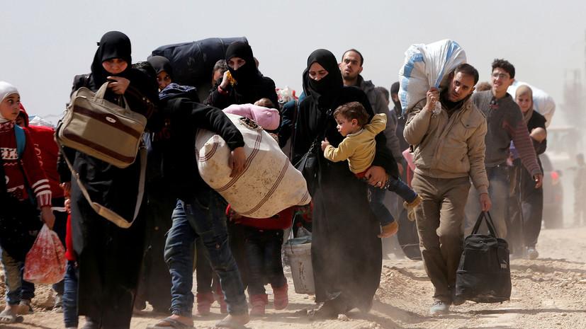 Более 30 тысяч человек смогли выйти из Восточной Гуты 17 марта