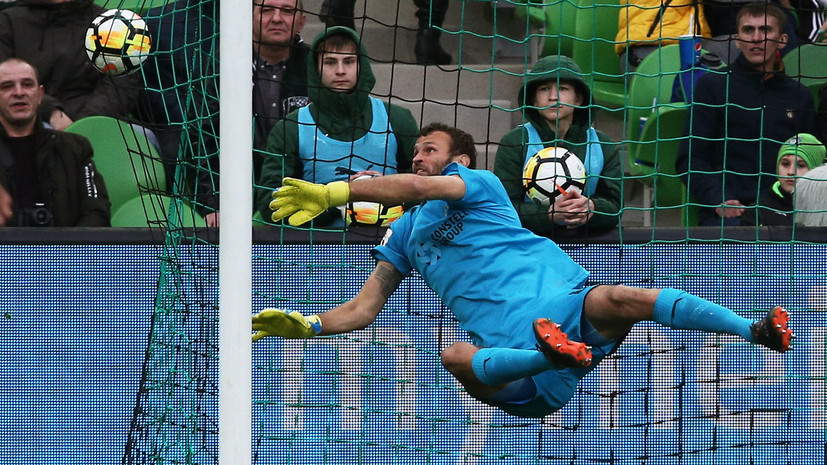 «Уфа» обыграла «Краснодар» в матче 23-го тура РФПЛ