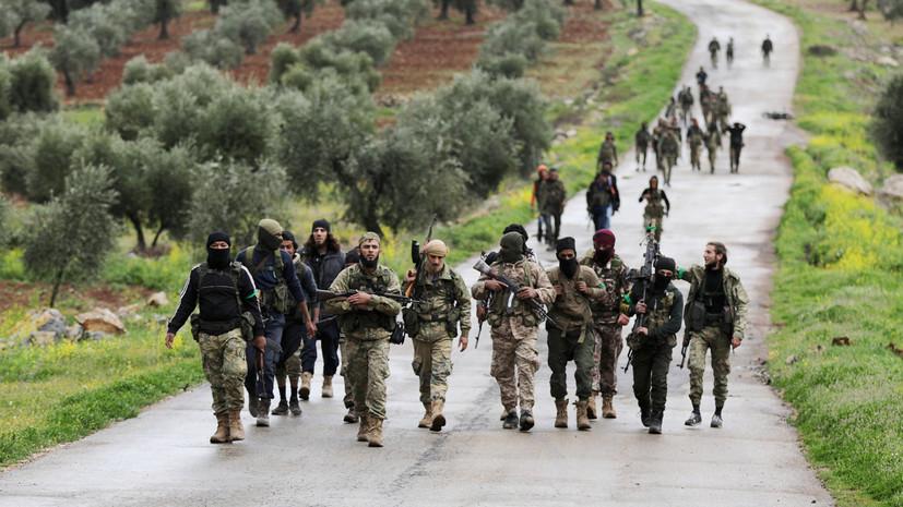 СМИ: Возглавляемые Турцией отряды вошли в Африн