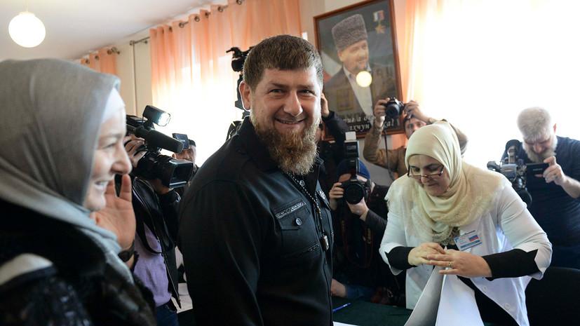 Кадыров призвал «не обижаться на мелкие провокации» в ходе выборов президента России