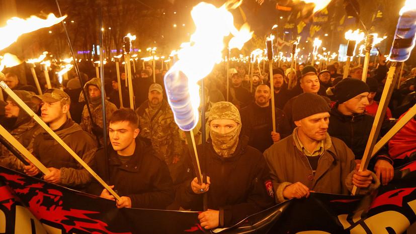 Украинские националисты заявили о планах провести марш против олигархов