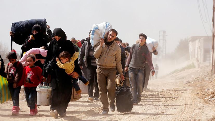 Центр по примирению: более 3,5 тысячи человек вышли из Восточной Гуты утром 19 марта