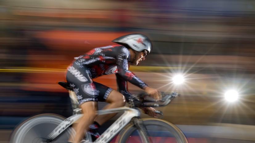 В Колумбии испанского велогонщика избили и ограбили во время тренировки