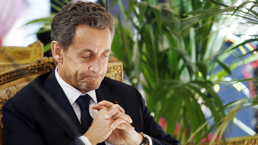 СМИ: Саркози задержан для проведения допроса