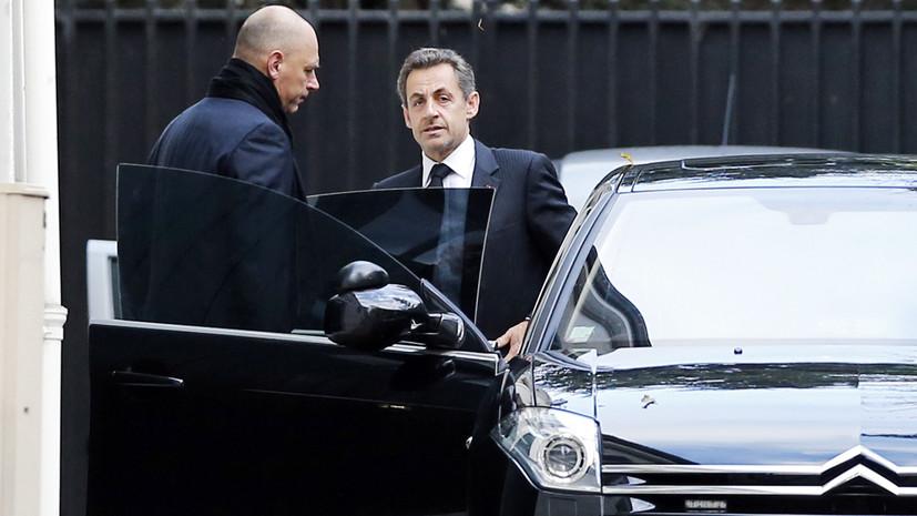 Чемоданы евро и связи с Каддафи: в чём подозревают задержанного экс-президента Франции Николя Саркози