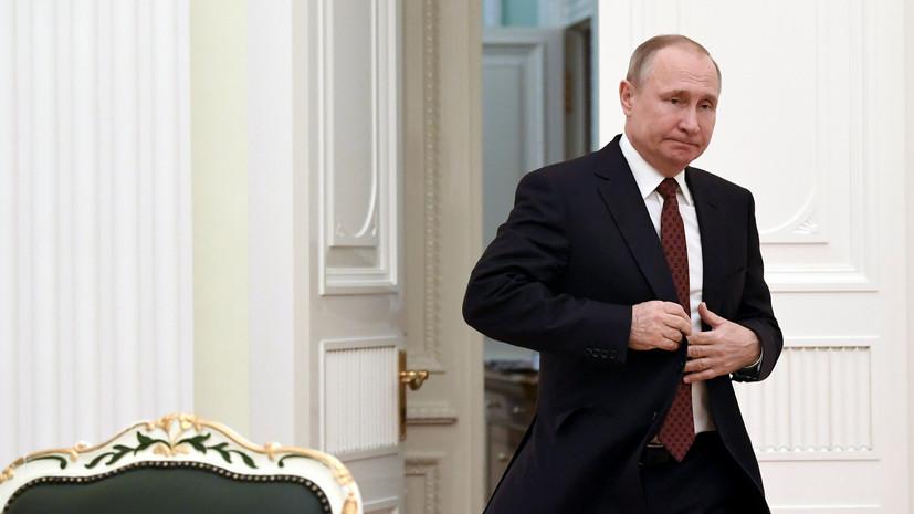 Путин и глава Южной Осетии подтвердили настрой на развитие плодотворного сотрудничества