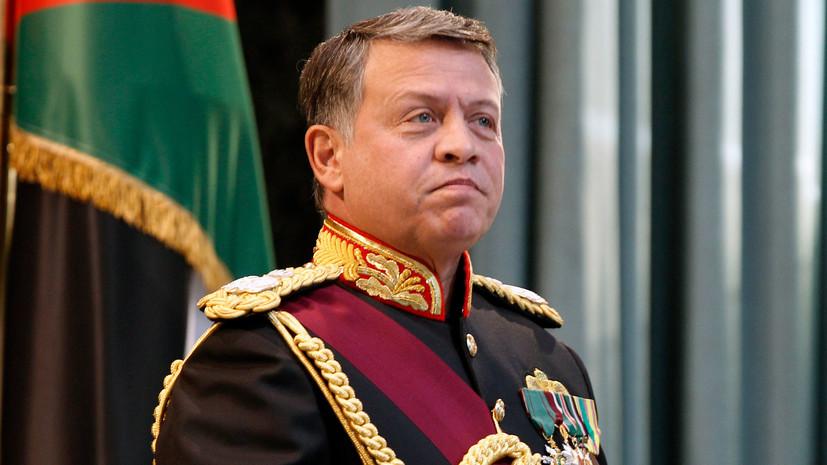 Король Иордании поздравил Путина с победой на президентских выборах