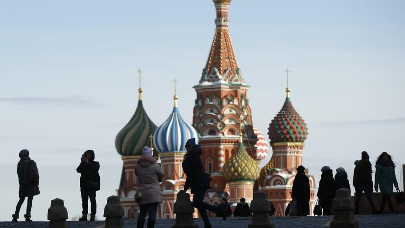 Температура воздуха в Москве впервые в 2018 году превысила 5 °C