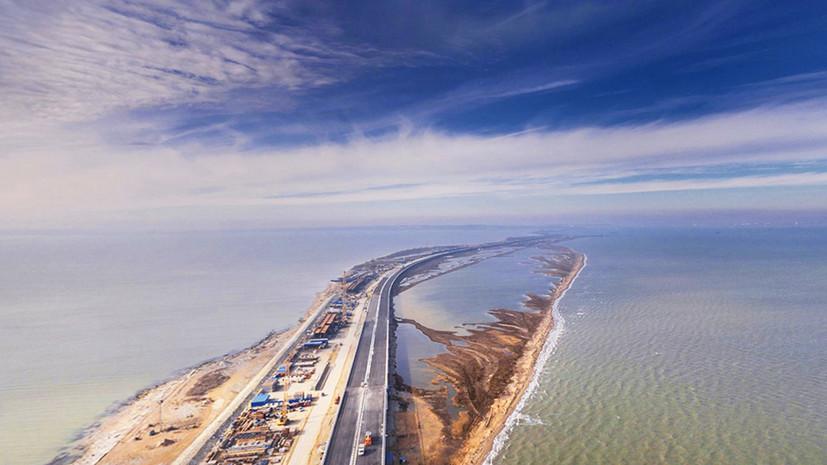 Движение по Крымскому мосту запустят уже в мае этого года