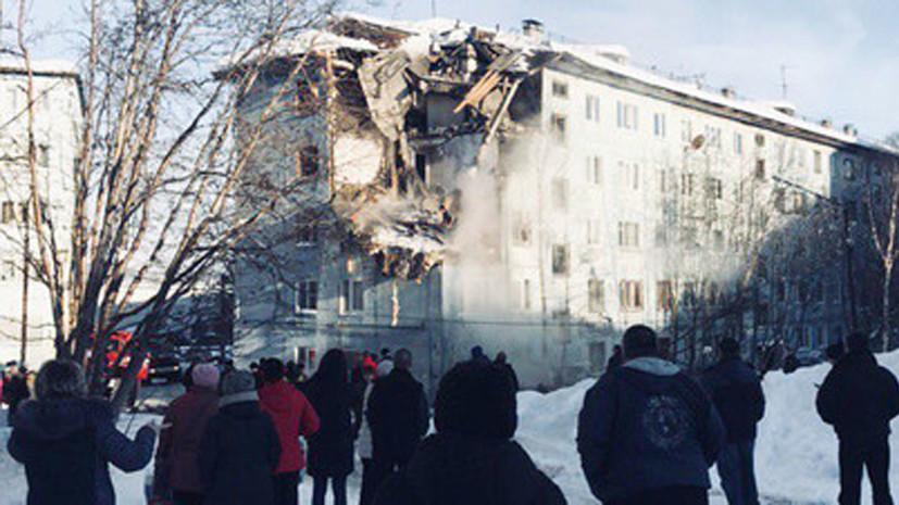 Источник: при взрыве бытового газа в Мурманске погиб один человек и пострадали пятеро