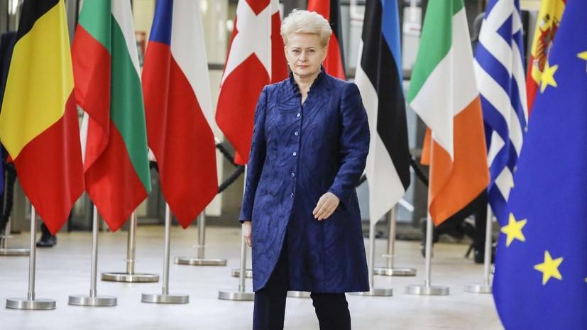 Президент Литвы не планирует поздравлять Путина с победой на выборах