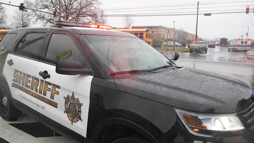 В полиции заявили, что открывший стрельбу в школе Мэриленда был её учеником