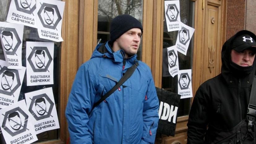 На Украине митингующие требуют отставки губернатора из-за смерти военного лётчика Волошина