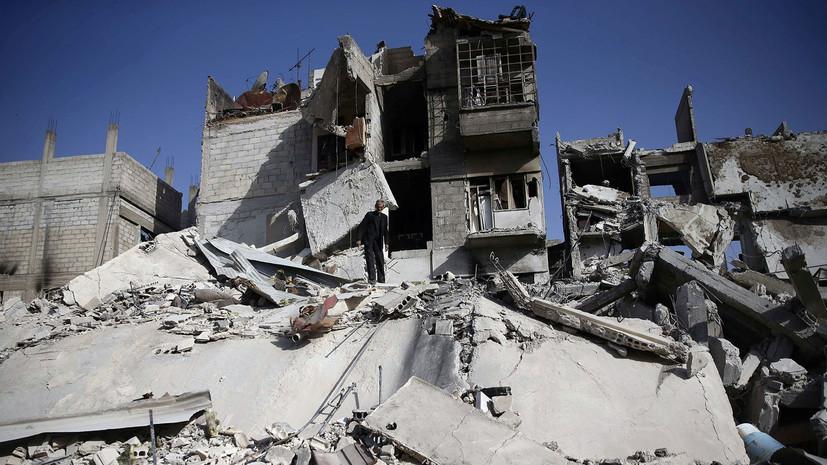 Более 30 человек погибли при обстреле террористами Дамаска