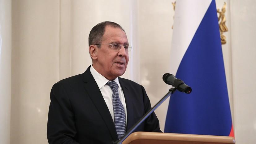 Лавров пошутил о «вмешательстве» России в климат Японии
