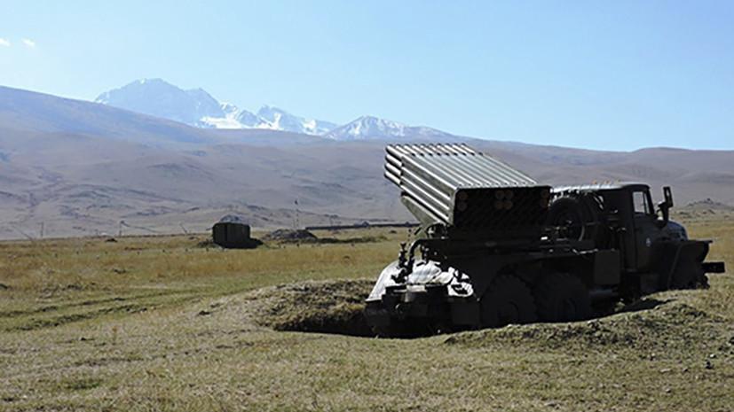 На Северном Кавказе начались учения подразделений ракетных войск и артиллерии ЮВО