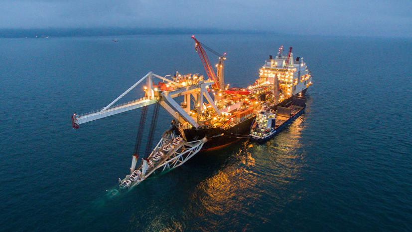 Уже наполпути: «Газпром» сказал оготовности 53% морской части «Турецкого потока»