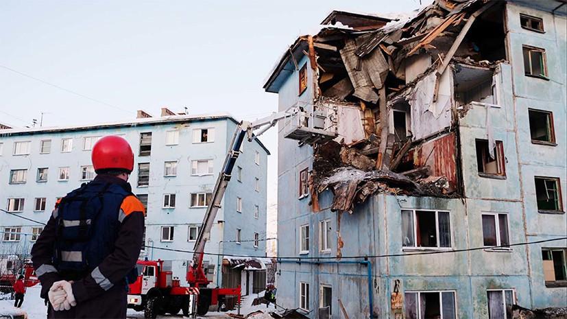 СК переквалифицировал дело по факту обрушения дома в Мурманске