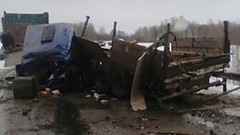СК начал проверку по факту ДТП с автобусом и грузовиком в Томской области