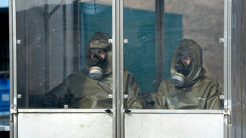 В Минобороны России заявили о проведении Великобританией экспериментов с химоружием