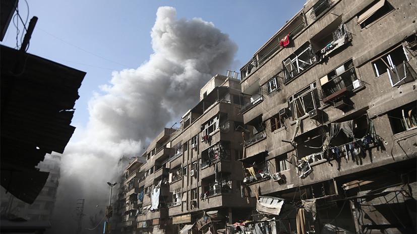 В МИД назвали очередной провокацией «кровавые атаки» террористов на Дамаск