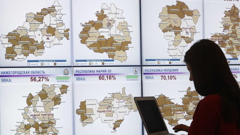 Результаты президентских выборов в России отменены на 14 участках