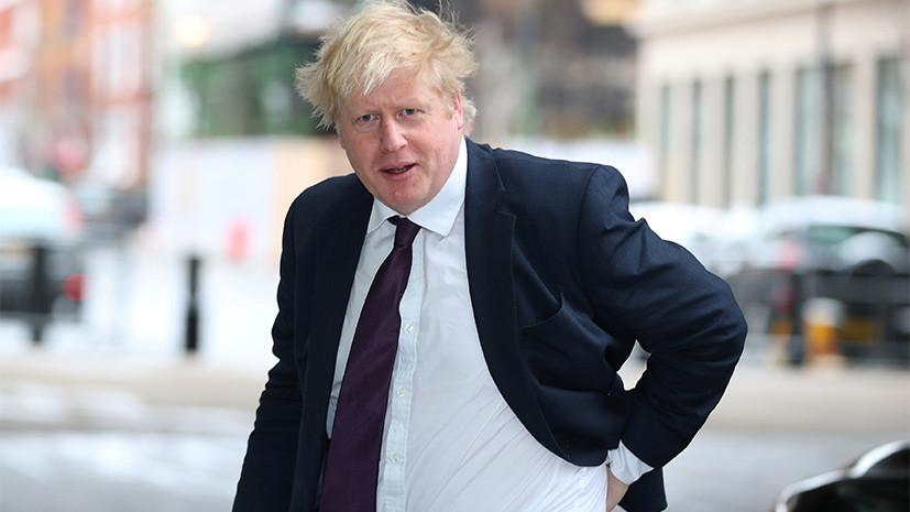 Джонсон заявил, что Британия не хочет новой холодной войны
