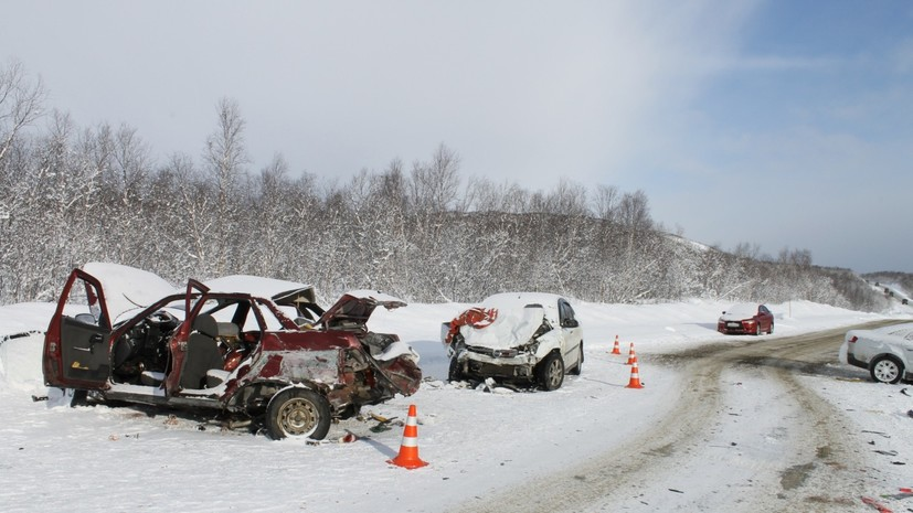 СК возбудил дело по факту ДТП в Мурманске с участием 11 машин