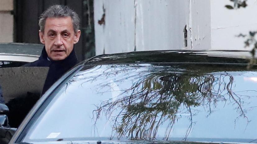 Милиция завершила допрос Саркози иосвободила из-под ареста