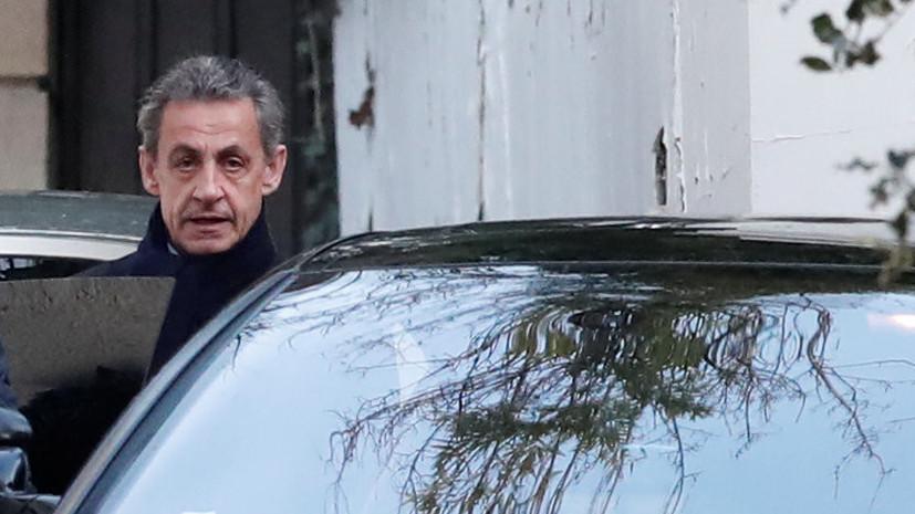 СМИ рассказали о реакции Саркози на выдвинутые против него обвинения