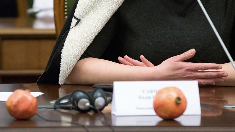 Савченко принесла гранаты на заседание комитета Верховной рады