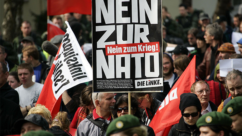 В бундестаге призвали правительство ФРГ отказаться от участия в ядерных программах НАТО