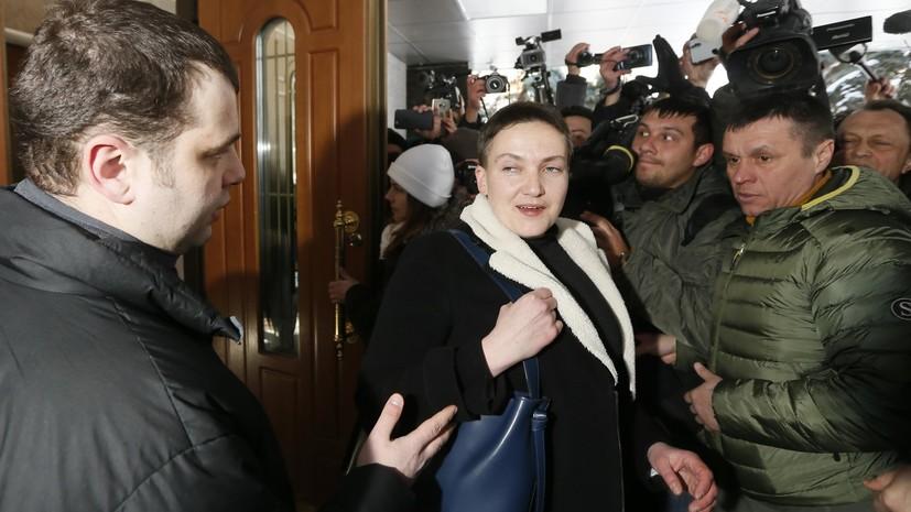 Эксперт прокомментировал задержание Савченко в здании парламента Украины