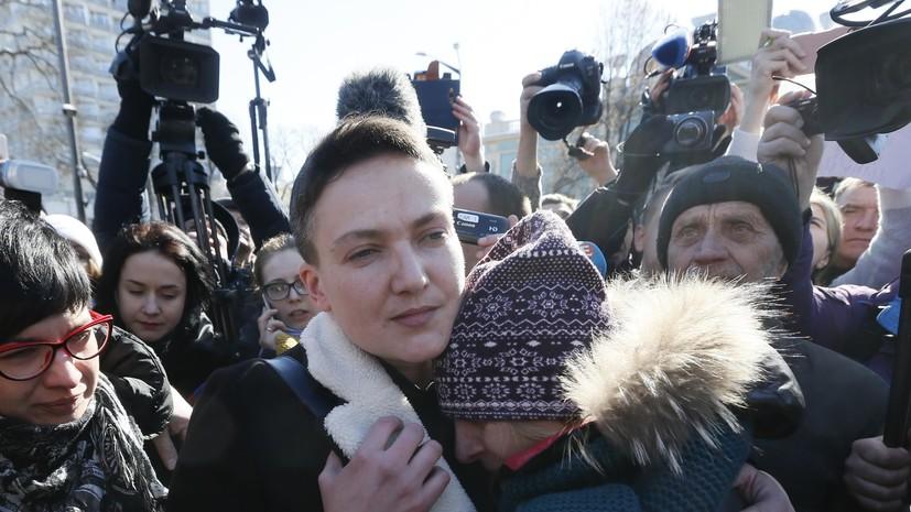 Сестра Савченко: Надежда прибыла на заседание Рады с вещами для тюрьмы