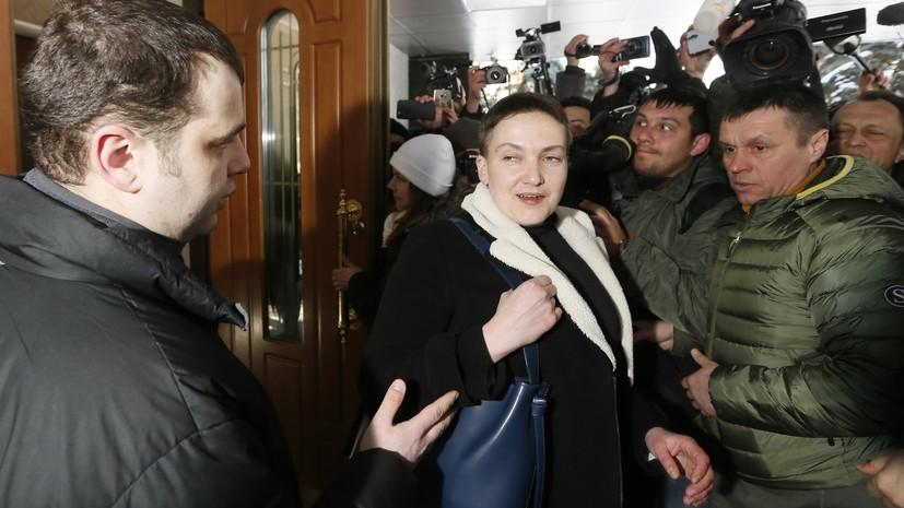 СБУ приступила к допросу Савченко