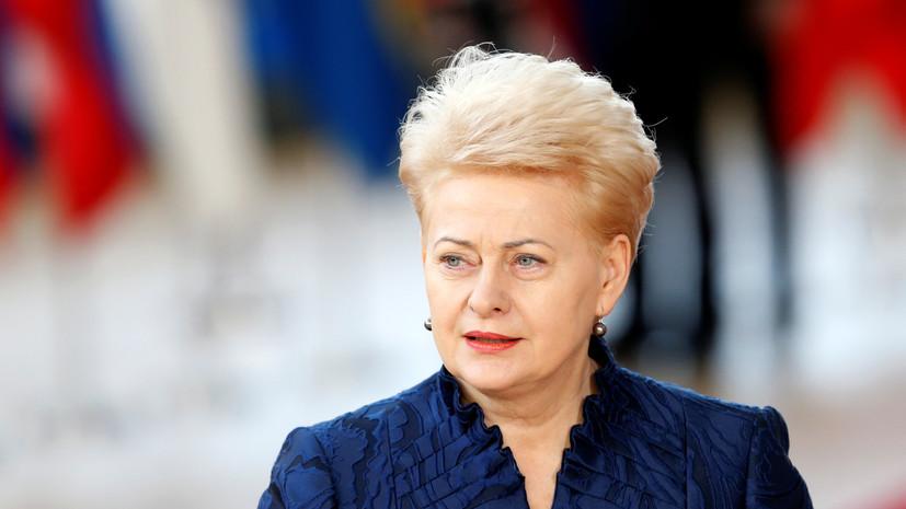 Литва может выслать русских дипломатов из-за дела Скрипаля