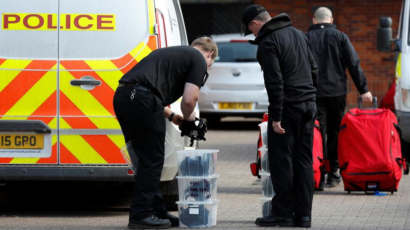 СМИ сообщили о госпитализации второго расследующего дело Скрипаля полицейского