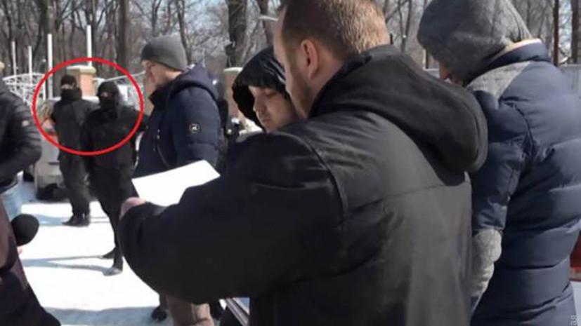 В Одессе напали на журналистов местного телеканала